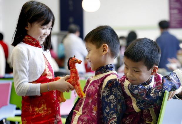 School welcomes in Chinese New Year