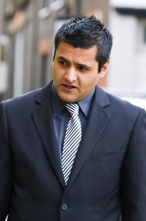 Crooked traffic cop Irfan Hussain has been jailed for issuing bogus fines
