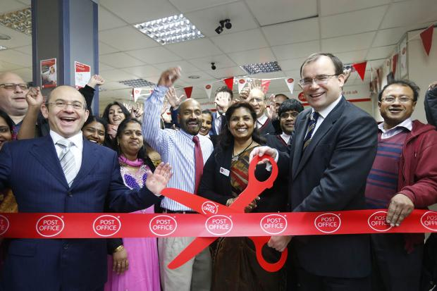 Harrow Times: MP opens refurbished Post Office