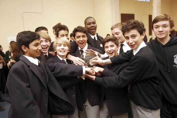 Harrow Times: Schools battle it out to be for MasterMind in Harrow competition