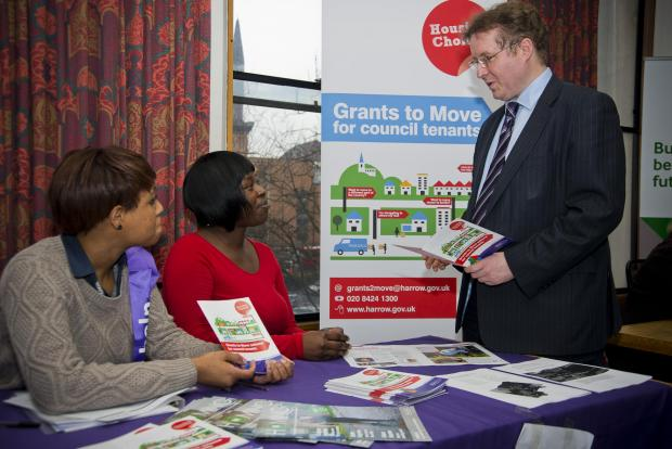 Housing tenants learn more about home swap scheme