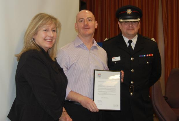 Commendation for council officer's fire safety work