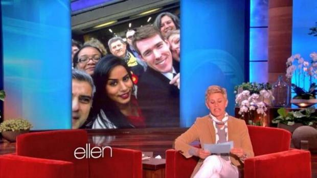 Harrow Times: Political selfie appears on American chat show