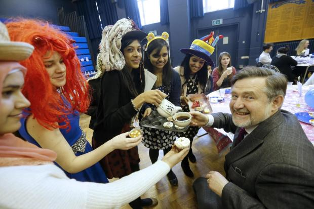Harrow Times: School holds mad hatter party for charity