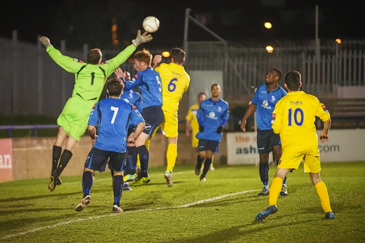 The Stones defeated Wingate & Finchley: Steve Foster/Wealdstone FC
