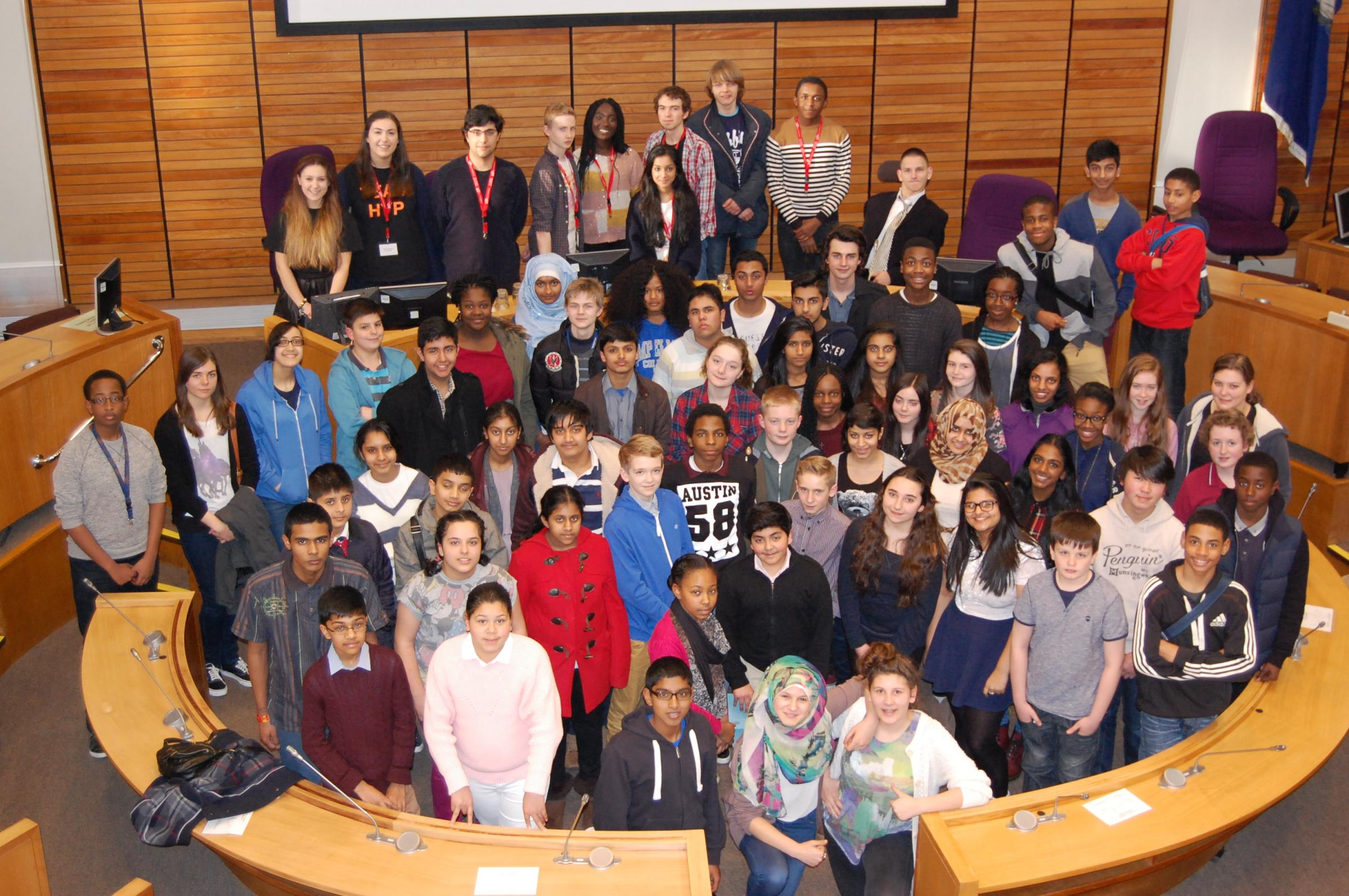 Thousands vote for new youth parliament members