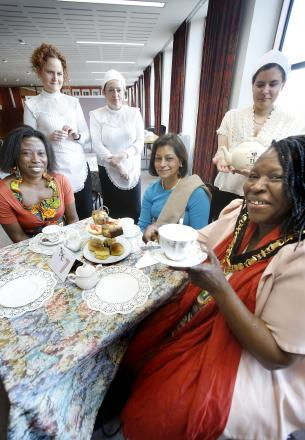 Mayoral tea raises money for charity