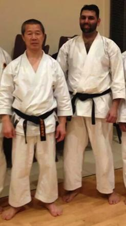 Harrow Shotokan Karate Club received an anniversary visit from a world instructor