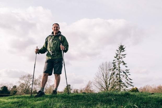 Harrow Times: Man calls on people to back heart disease hiking campaign