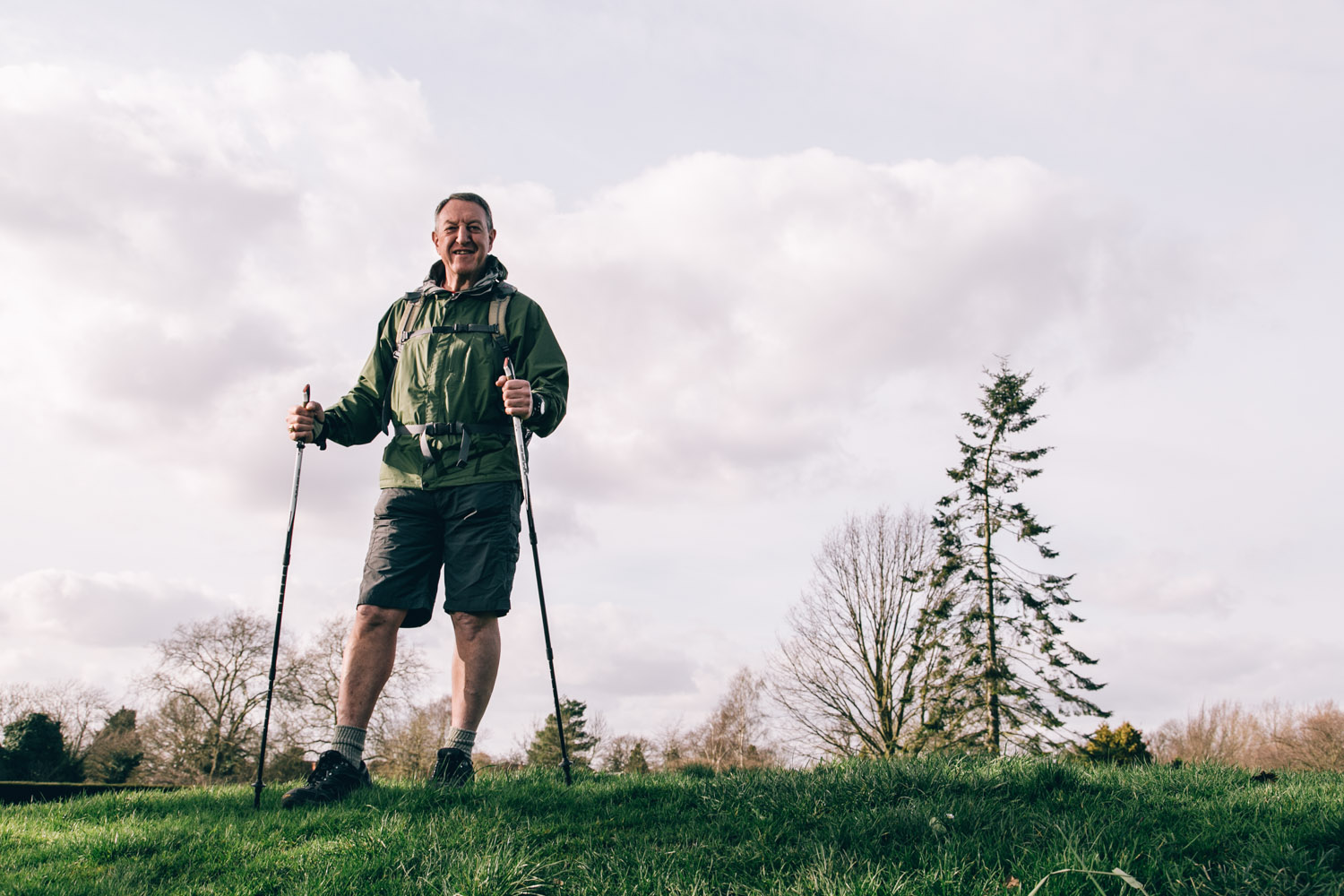Man calls on people to back heart disease hiking campaign