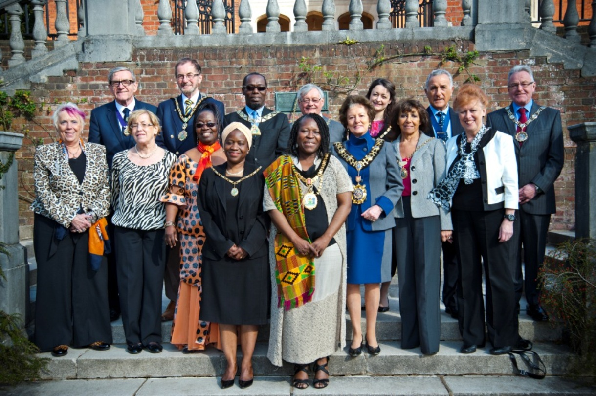 London Mayors visit borough