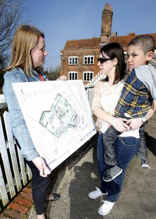 Young historians find out more about museum plans