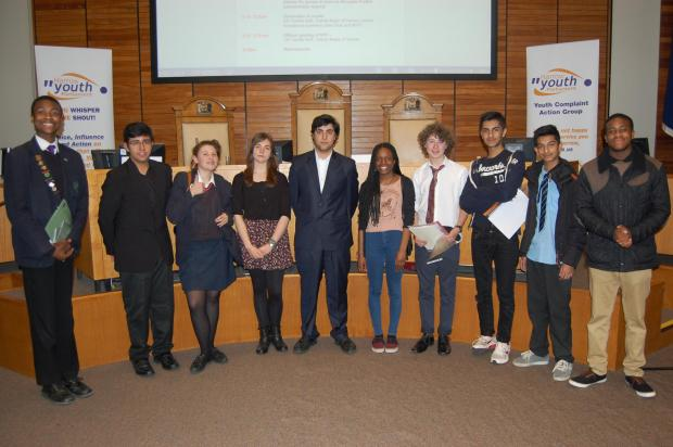 Members of Harrow Youth Parliament
