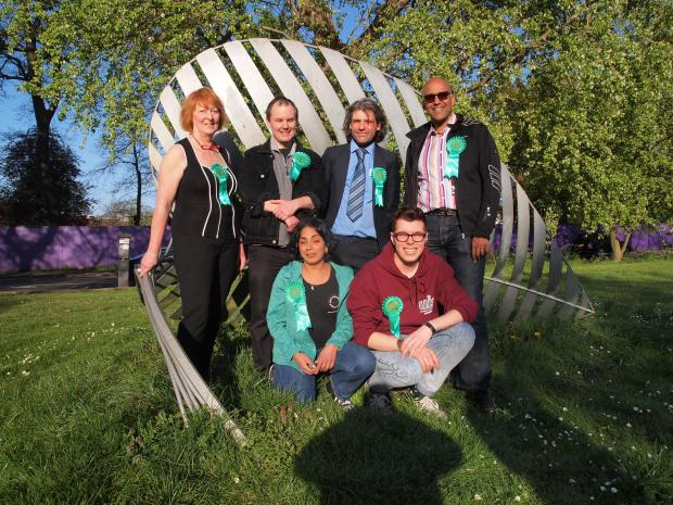 Green party announces election candidates