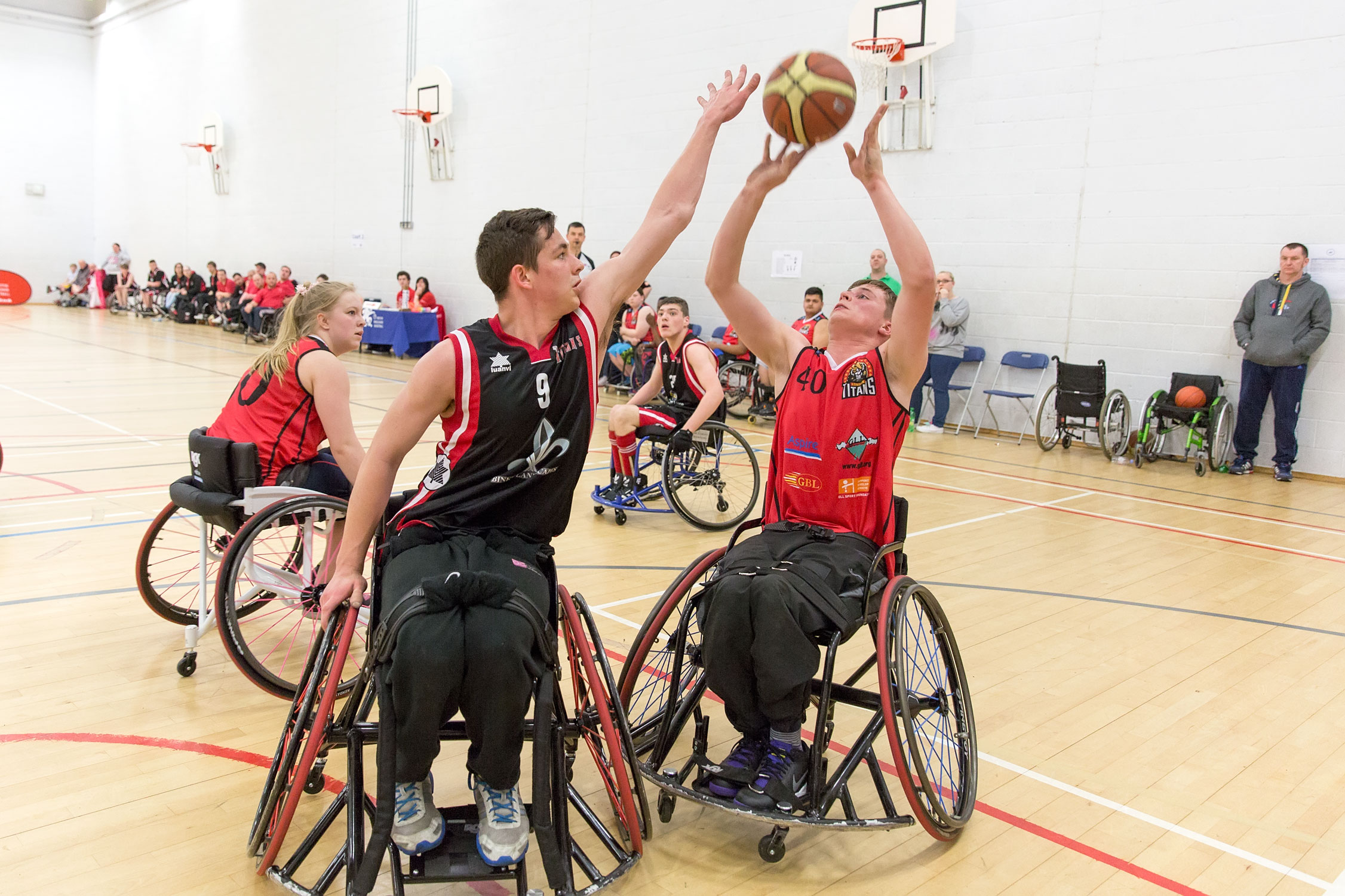 Wheelchair basketball team win national title