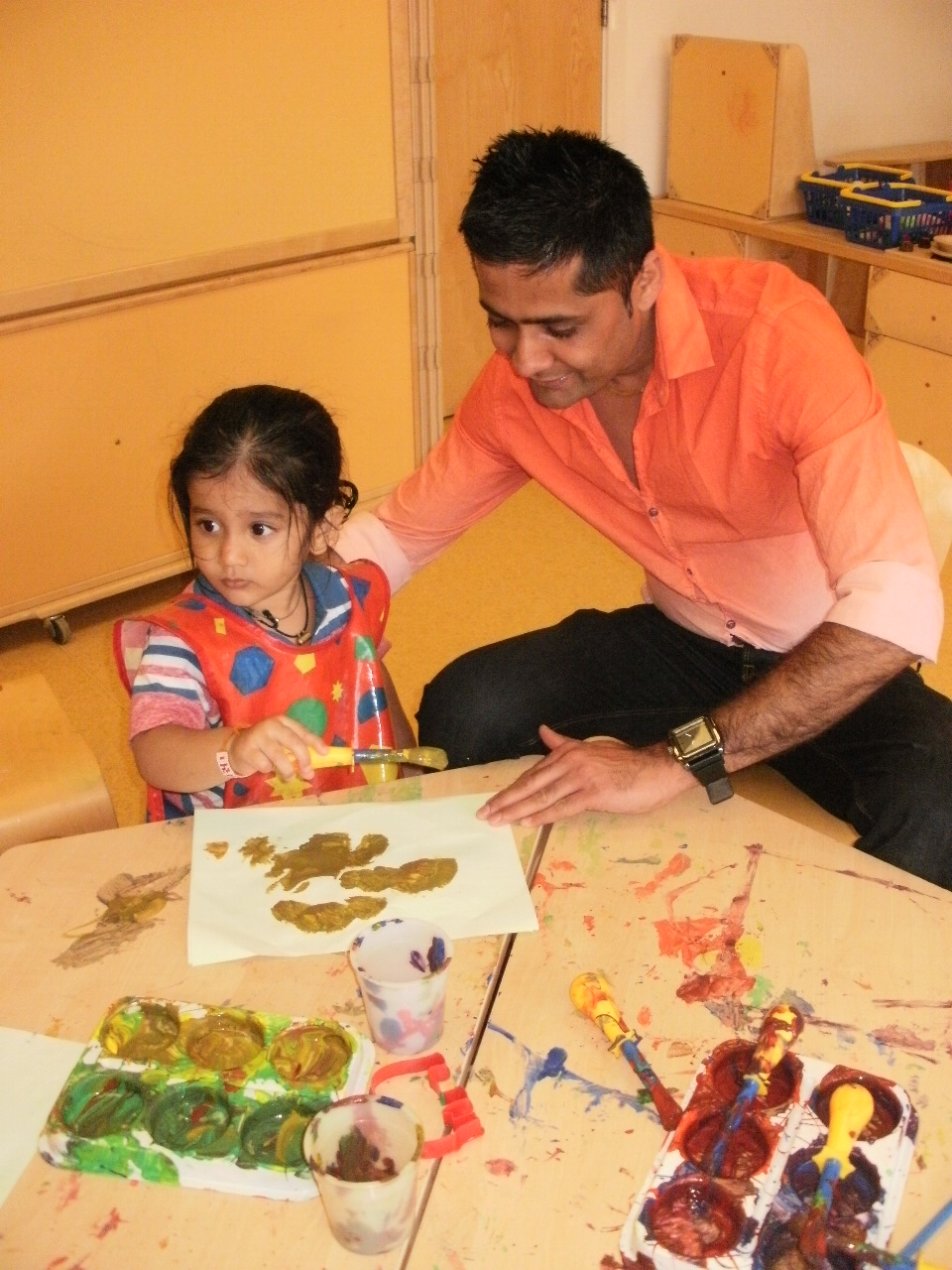 Children get creative art activity day