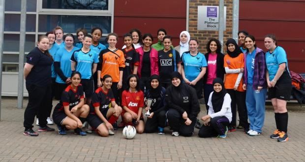 Female football league goes from strength to strength