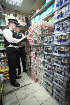 Thousands of litres of illegal booze seized in day of action