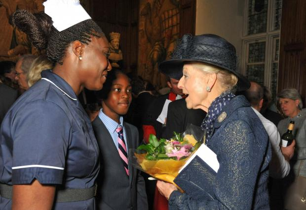 Top midwife takes part in Westminster abbey service