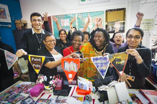 New student shop opened by Mayor of Harrow
