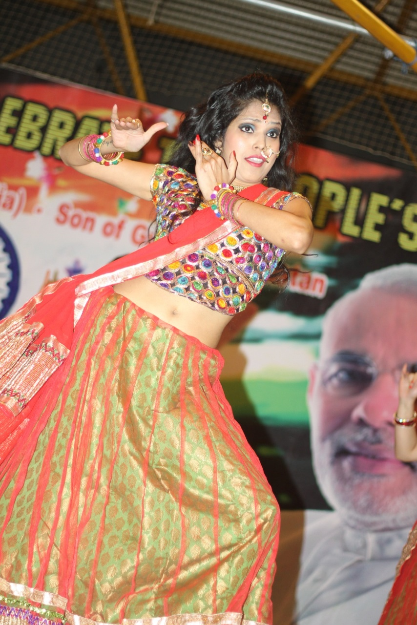 Temple celebrates Indian PM's election victory
