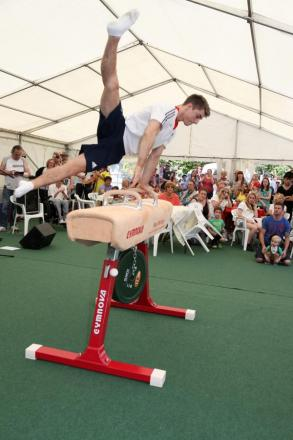 Olympic gymnast Max Whitlock