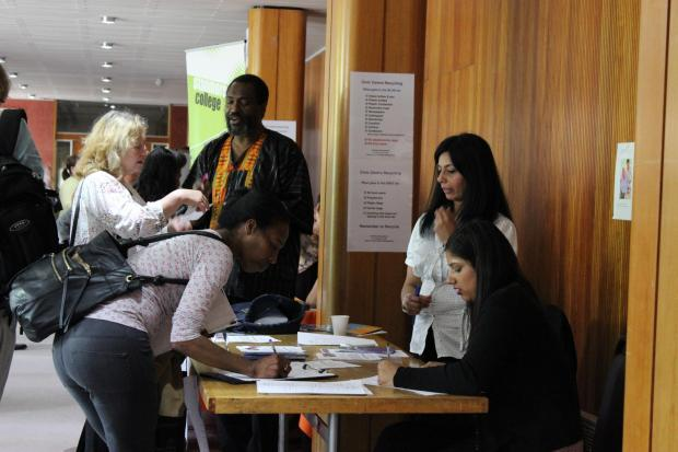 Employers offered training and vacancies to dozens of jobseekers at the event
