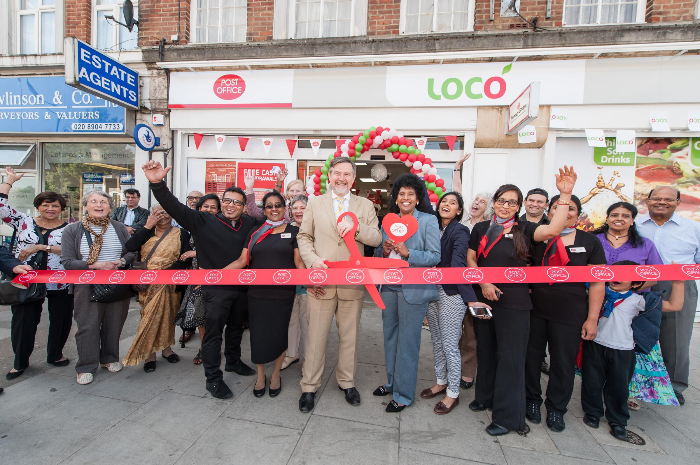The brand new Preston Road post office in Harrow