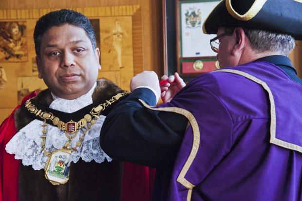 New Mayor of Harrow Cllr Ajay Maru