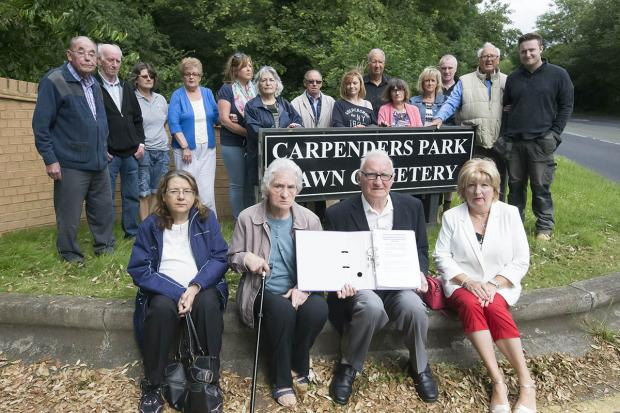 Anger over changes to graves at cemetery