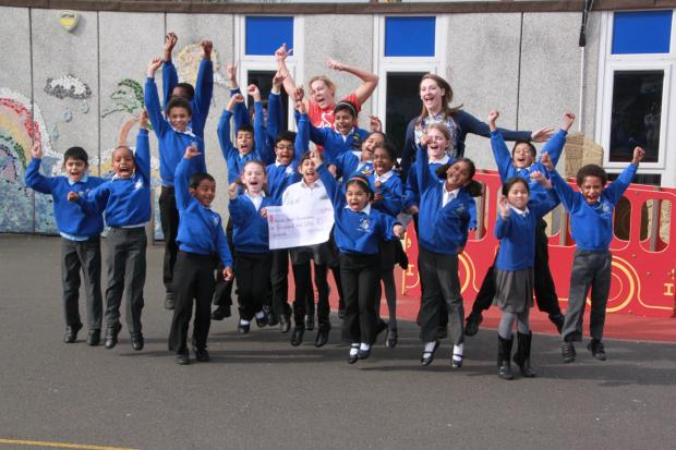 School awarded for supporting healthy pupils