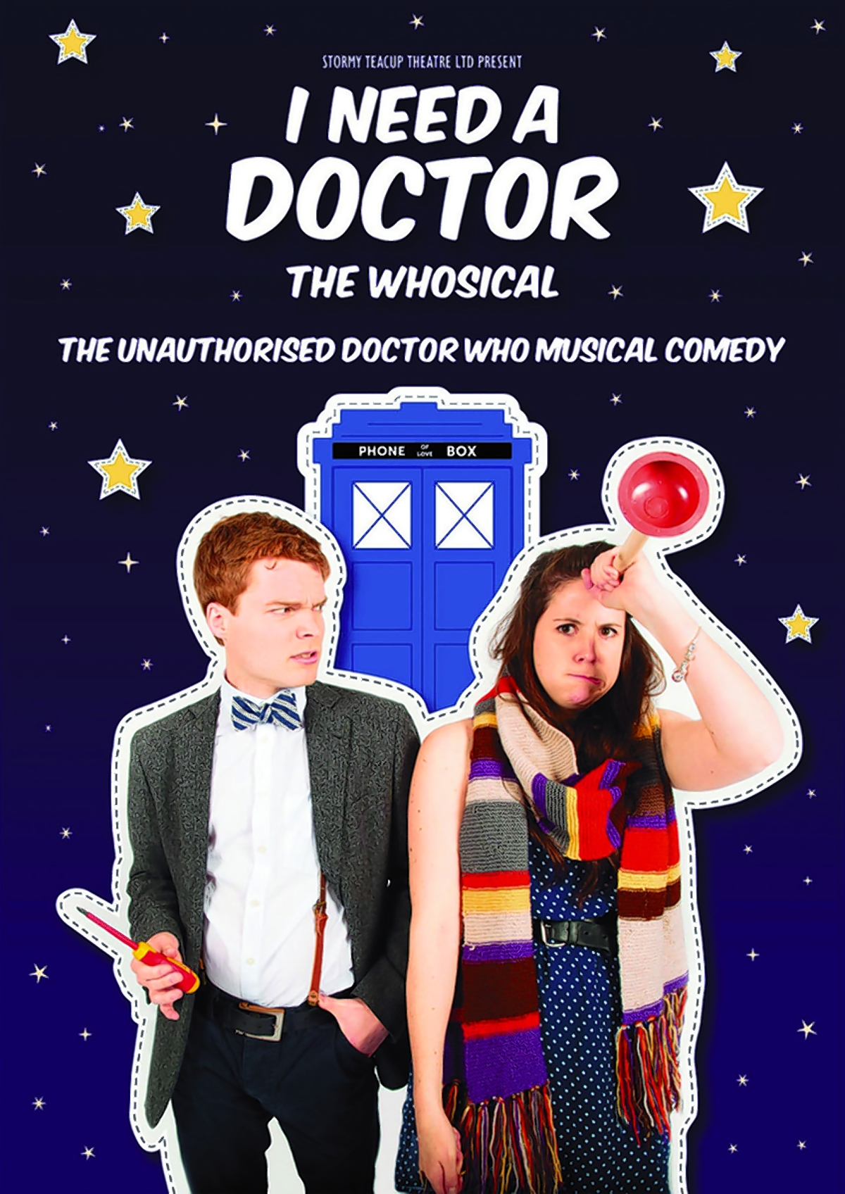 Catch Doctor Who musical I Need A Doctor before it regenerates