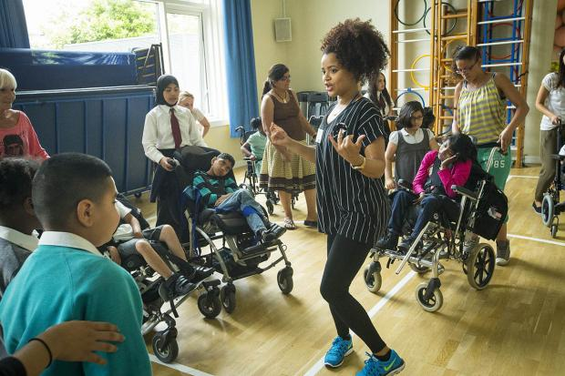 Harrow Times: Pupils enjoy dance lesson as part of national sports week