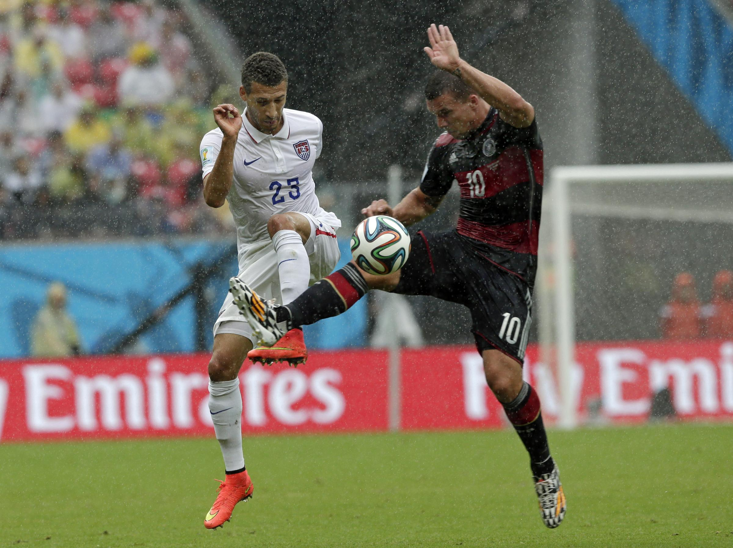 Germany defeat USA to top group