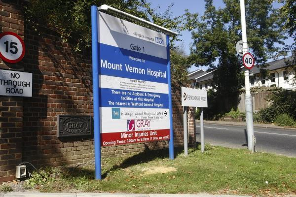 Harrow Times: Mount Vernon Hospital