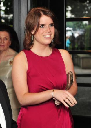 Princess Eugenie wearing the bracelet