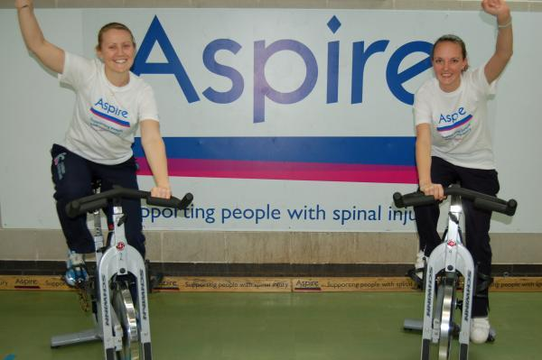 Harrow Times: Spin bike challenge for gym workers