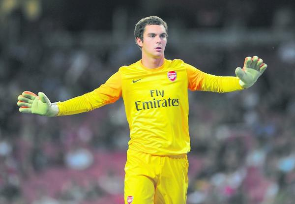 Former Arsenal keeper James Shea: Action Images