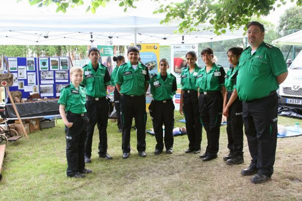St John Ambulance cadets remember work off WWI cadets