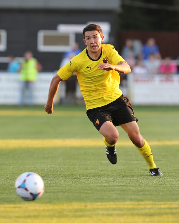 Luke O'Nien spent time on loan at Wealdstone last season. Picture: Dave Hughes