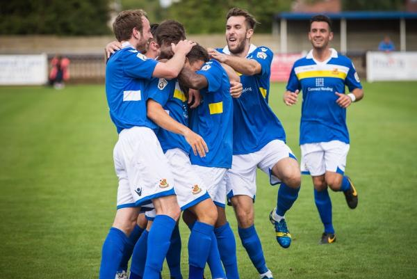 The Stones were denied an opening win over Eastbourne: Steve Foster/Wealdstone FC