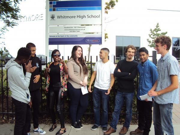 Pupils 'delighted' with A-level results