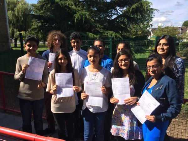 Headteacher proud of school's GCSE results