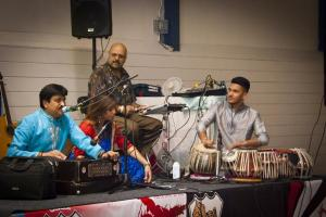 Around £4,000 raised for hospice in free bhajan evening