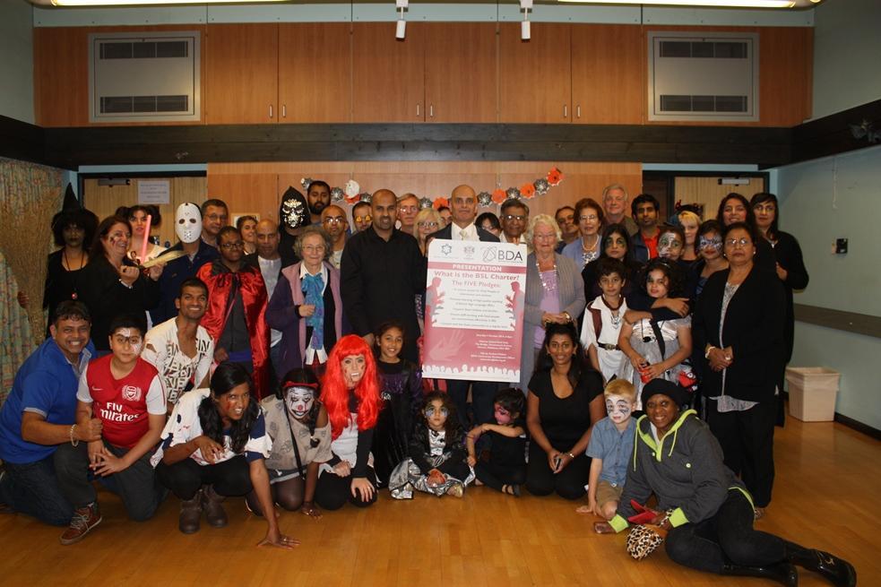 Deaf club backs sign language charter