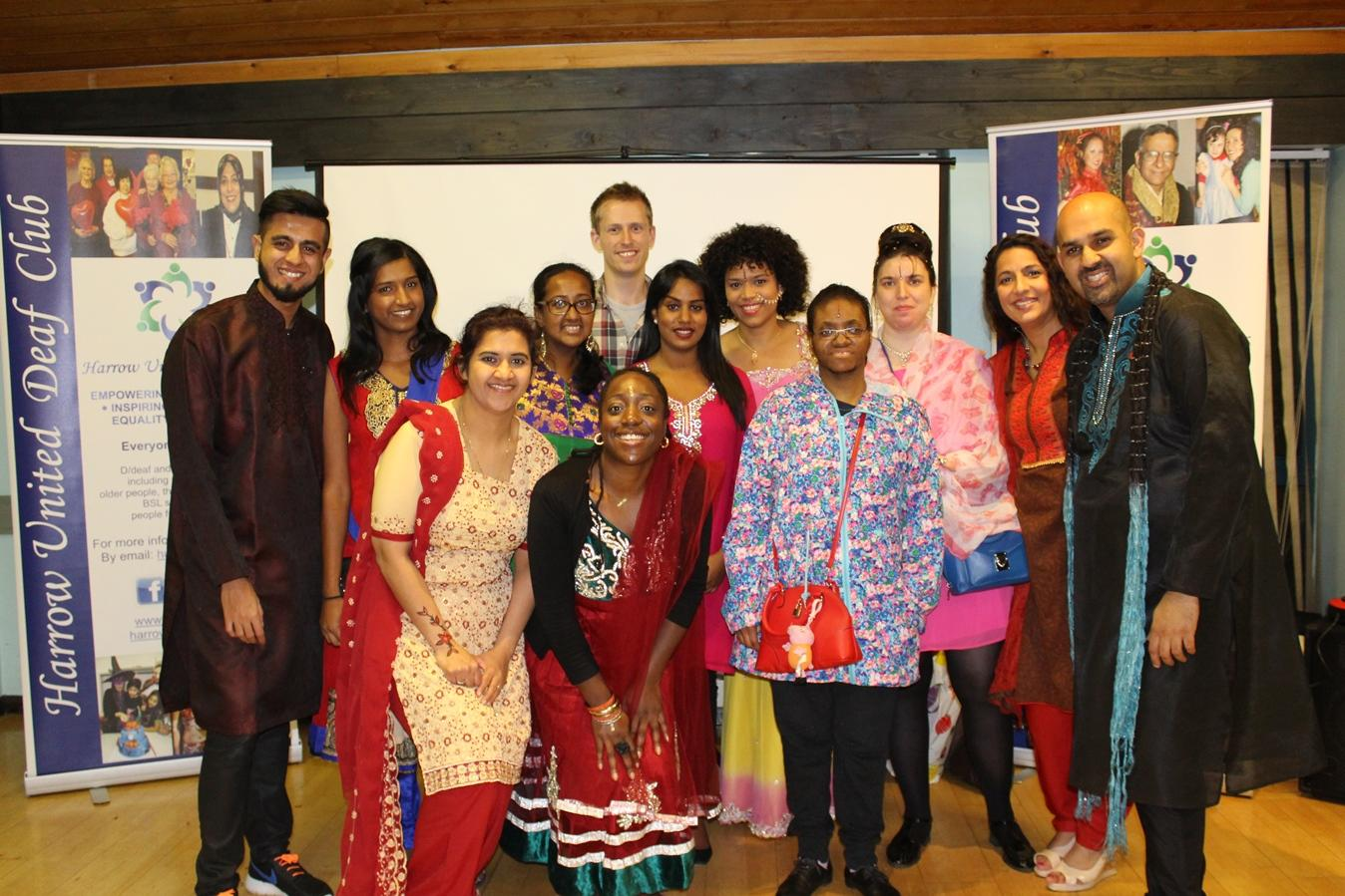 Deaf club hosts Eid and Diwali party