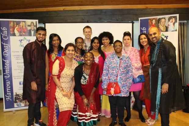 Deaf club hosts Eid and Diwali party