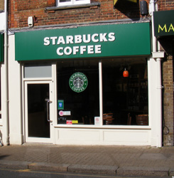 Starbucks in Pinner will stay after a Planning Inspector ruled in the firm's favour