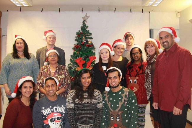 Deaf club joins together for Christmas party