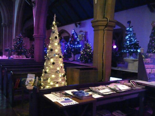 a picture of last years christmas tree festival